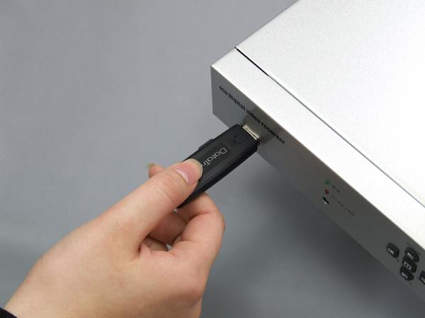 USBメモリ対応