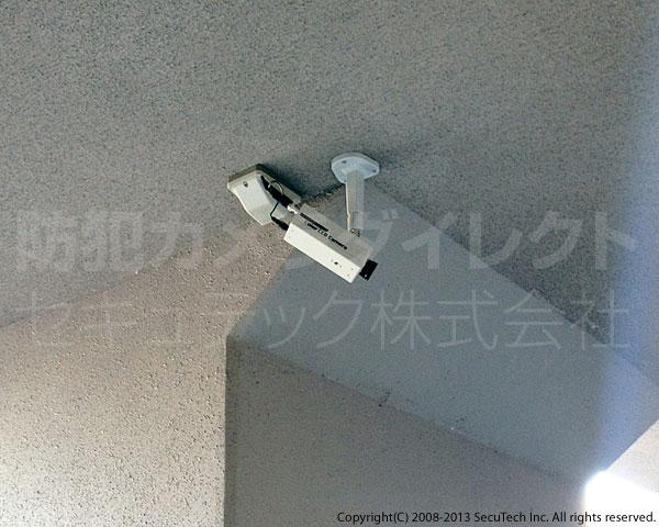 天井面への設置例